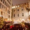 veganer Bio Rosé Glühwein in München am Christkindlmarkt Weihnachtsmarkt